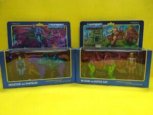 Masters of the Universe Super7 He-man, Skeletor, Battlecat y Panthor reaction