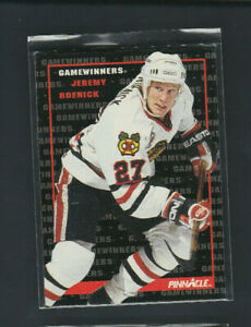 1992-93 Pinnacle Gamewinners # 256 Jeremy Roenick