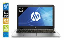 HP Elitebook 850 G1 - 15,6 Zoll - Core i7-4600U @ 2,1 GHz - 4GB RAM - 180 GB SSD