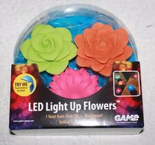 Led Light Up Flowers Swimming Pool Spa Fountain Game