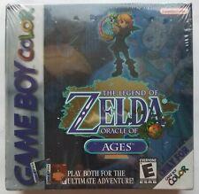 NEW Legend of Zelda: Oracle of Ages (Game Boy Color, 2001) Factory SEALED
