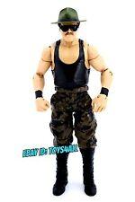 SGT SLAUGHTER - WWE Mattel Basic Series Wrestling FIGURE - GI JOE_WWF AWA_s39