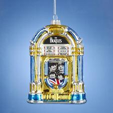 KURT S. ADLER BEATLES™ GLASS JUKEBOX CHRISTMAS ORNAMENT