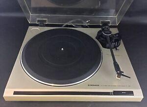 Platine vintage PL120 Pioneer- Diamant et courroie à remplacer -  le reste ok