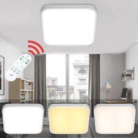 60W LED Deckenleuchte Wohnzimmer Deckenlampe Dimmbar Badleuchte Flur lampe