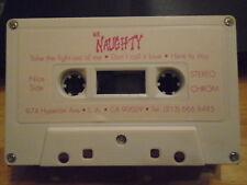 MEGA RARE Mr. Naughty DEMO CASSETTE TAPE hair metal UNRELEASED Running Wild '90s