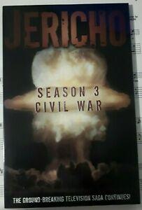 Jericho: Season 3: Civil War TV tpb IDW trade paperback