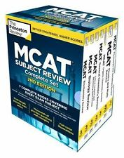 Princeton Review MCAT Subject Review Complete Box Set by Princeton Review Staff (2016, Paperback / Paperback)