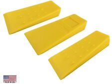 "3 PACK OF 5.5"" TREE WEDGE *USA MADE* ABS LOGGING BUCKING FALLING FELLING WEDGE"