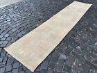 Wool rug, Bohemian rugs, Runner, Handmade rug, Turkish, Vintage | 2,4 x 11 ft