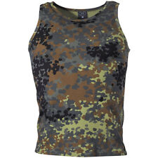 Cotton Army Sleeveless T-Shirts for Men