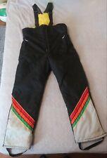John Deere Vintage Snow Mobile Ski Pants Mens Size Small
