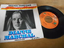 "7"" OST Dianne Marchal -  Speedtrap / American Saint (2 Song) JUPITER WoL"