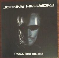 """JOHNNY HALLYDAY """"I WILL BE BACK - LIVE NIMES 17.07.16"""" RARE DOUBLE CD NEUF !"""