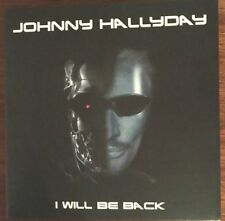 "JOHNNY HALLYDAY ""I WILL BE BACK - LIVE NIMES 17.07.16"" RARE DOUBLE CD NEUF !"