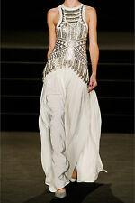 SASS & BIDE Neon City / Egyptian Shawl Silk Gown Maxi Dress **£2415.00**