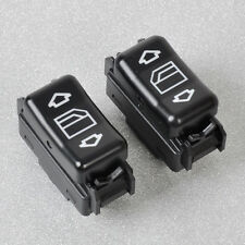 Pair For Mercedes 190 260 300 W124 W126 Electric Control Power Window Switch R/L