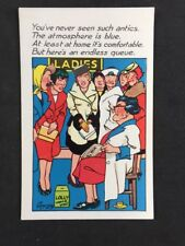 Vintage Postcard: Comic Artist Signed: Le Ray #A371: But Here's An Endless Queue