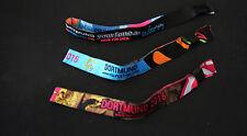 NEU HOLI FESTIVAL OF COLOURS Dortmund Armband Armbändchen 3 Stück