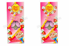 2 X Chupa Chups Strawberry & Cream Scented Tealight Candles 10's