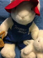 """The Runaway Bunny 18"""" Mommy & Baby Bunny Rabbits Plush Toy by Commonwealth"""