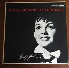 "JUDY GARLAND ""MISS SHOW BUSINESS"" W676/1955 ORIGINAL MONO~STAMPED D18 & D20"