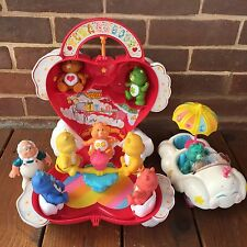 Vintage Kenner Care Bear Care-A-Lot Play House Cloud Mobile Cloud Keeper Bears