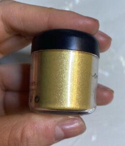 MAC Comestic Golden Lemon Pigment Colour Powder 7.5g Eyeshadow Highlight Shimmer