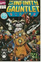 Infinity Gauntlet #1  (Marvel, July 1991) signed George Perez