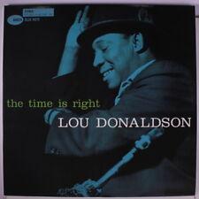 LOU DONALDSON: The Time Is Right LP (2 180g 45rpm HQ discs) Jazz