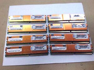 Hynix 1GB 2Rx8 PC2-5300F ECC Fully Buffered Server RAM Lot of 8