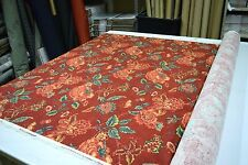 """COLONIAL WILLIAMSBURG PERSIANA BEJEWELED DESIGNER HOME DECOR FABRIC 54""""W BTY"""