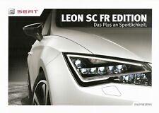 Prospekt / Brochure Seat Leon SC FR Edition 05/2014