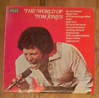 The World Of Tom Jones Vinyl LP 33rpm 1976 Comp Decca ‎– SPA 454