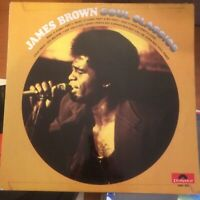 JAMES BROWN SOUL CLASSICS Vol.1  original 1972 vinyl LP polydor 2391037 exc