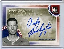 2012/13 ITG FOREVER RIVALS ANDY BATHGATE AUTOGRAPH