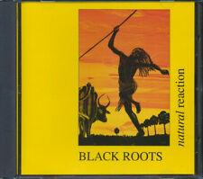"RARE CD BLACK ROOTS ""NATURAL REACTION"" Original NUBIAN Rec. (1990)  ROOTS REGGAE"