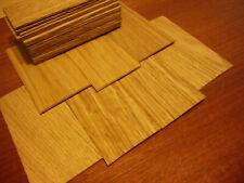 Eiche. Dachschindeln Holzschindeln. Eiche. 100 Stück.. 50mm x 30mm x 2mm