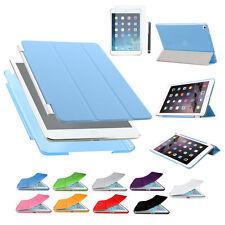 iPad Mini 1 2 3 Smart Cover Schutz Hülle Etui Tasche + Back Case Rückcover Folie
