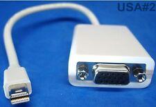 us seller THUNDERBOLT MINI DP DISPLAY PORT TO VGA ADAPTER CONNECTOR 15-pin