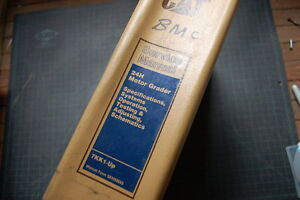 CAT Caterpillar 24H Motor Grader Repair Shop Service Manual owner operator book