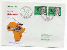1977 SVIZZERA BALAIR VOLO ZURICH-NAIROBI C/1649