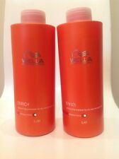 Wella Enrich Shampoo 1L & Conditioner 1L (1 litre) Duo With Pumps