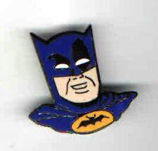 old BATMAN head  figural CLOISONNE pin