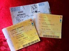 Biglietti concerti Jovanotti 2011 Paolo Conte 2009 Biagio Antonacci 2007