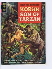 Korak Son of Tarzan #1 Gold Key Pub 1964