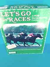 VCR Horse Racing Game Let's Go To The Races Instant Racing Action circa 1987