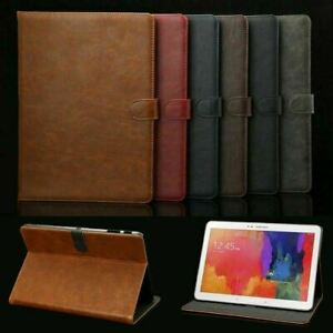 """Leather Case Cover For Samsung Galaxy Tab A 10.1""""8.0 A7 S6 Lite 10.4""""S5e 10.5""""S2"""
