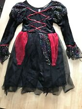 Halloween Witches Dress Up - Age 5-8yrs