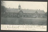 Postcard Tiverton Devon the Blundell's Old Schools posted 1903